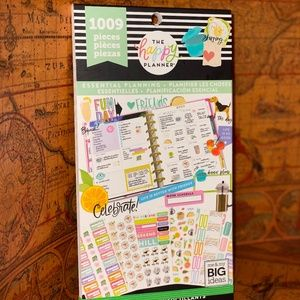 The Happy Planner Essential Planning Stickers book